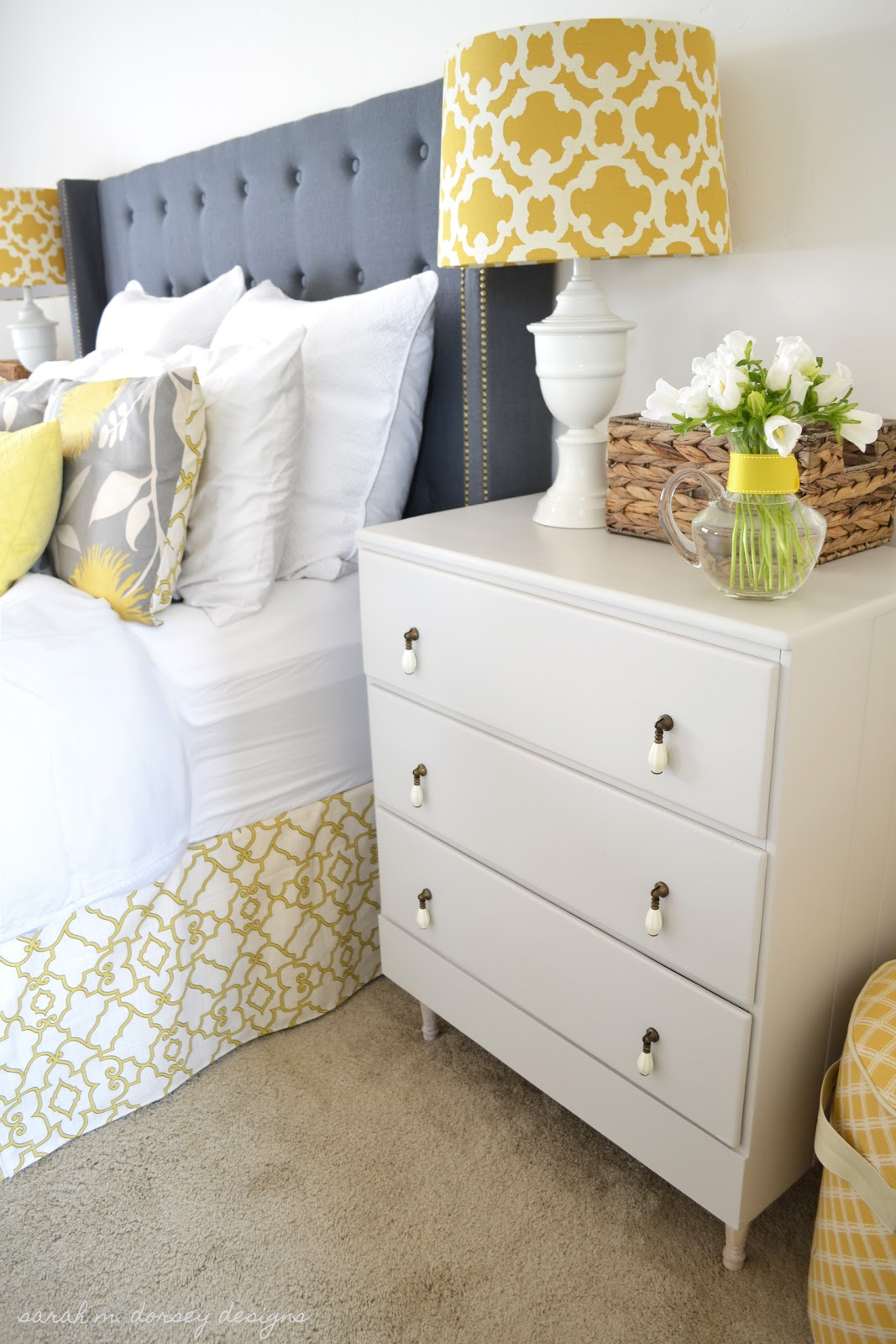 Sarah M Dorsey Designs Second Dresser Nightstand Finished
