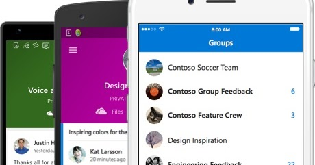 Microsoft releases Outlook Groups app for Android, iPhone and Windows Phone