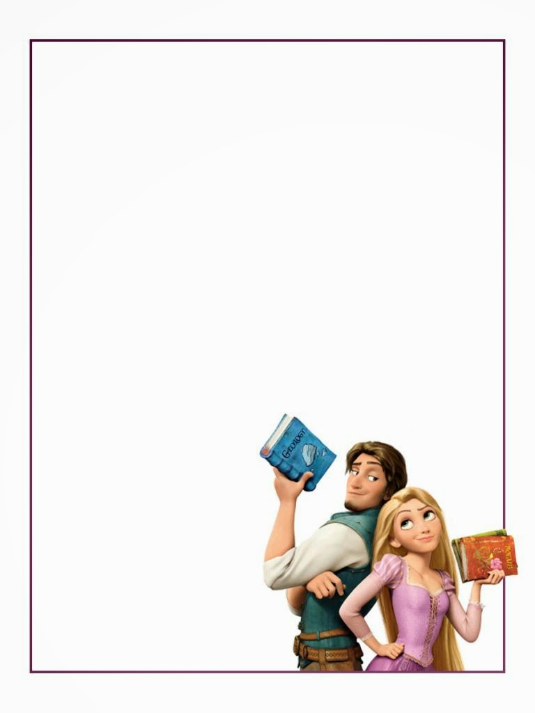 rapunzel or tangled free printable notebook