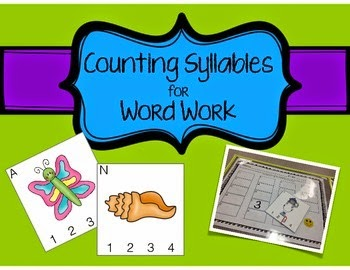 http://www.teacherspayteachers.com/Product/Counting-Syllables-for-Word-Work-1433820