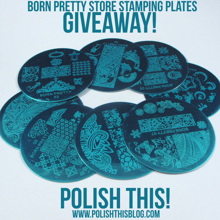 BPS Stamping Plates Giveaway