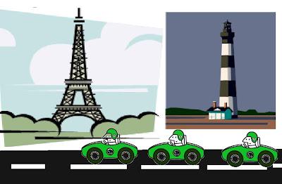 gambar mobil dan kota