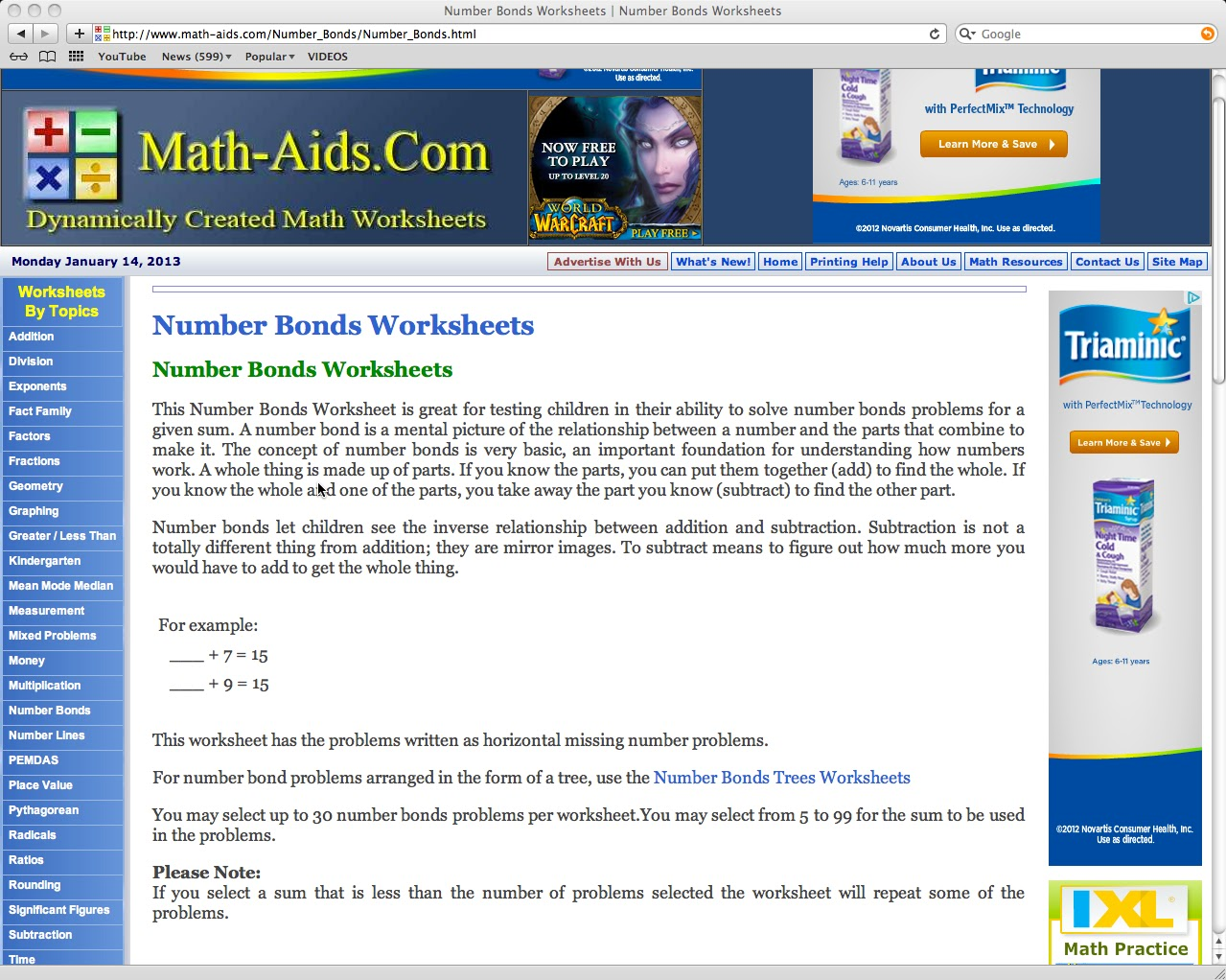 worksheet Math Aids Algebra place value practice sheets subtracting fractions from whole math aids multi step algebra equations 1 valuehtml