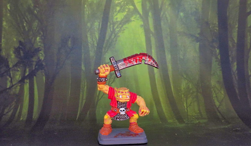 Heroquest, Orc, Painted, Fimir