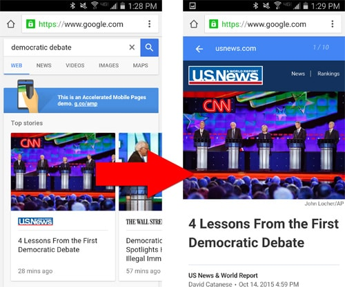 What About Ads in Accelerated Mobile Pages Project