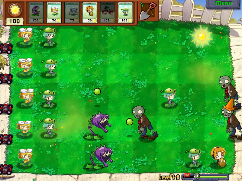 Plants vs Zombies (Vocaloid Ver.) PC Game Full Free ...