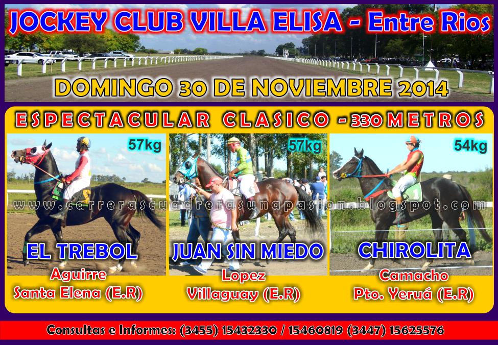 VILLA ELISA - CLASICO 330 METROS