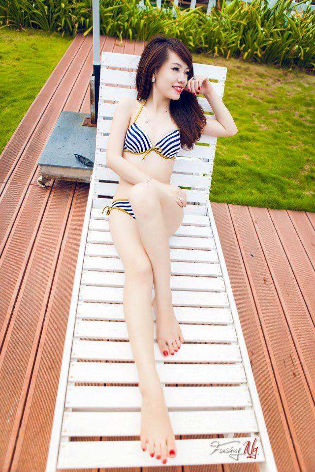 Ảnh gái đẹp HD Ngân Obe Mùa hè nóng bỏng 6