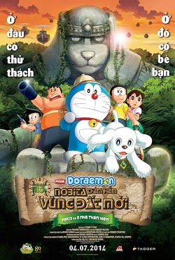Nobita Thám Hiểm Vùng Đất Mới - Doreamon: Nobita And The New Great Haunts Of Evil