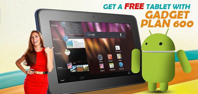 Alcatel One Touch Evo 7 Tablet now available for FREE at Sun Broadband