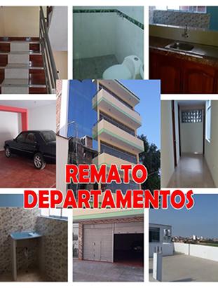 REMATE DE DEPARTAMENTOS