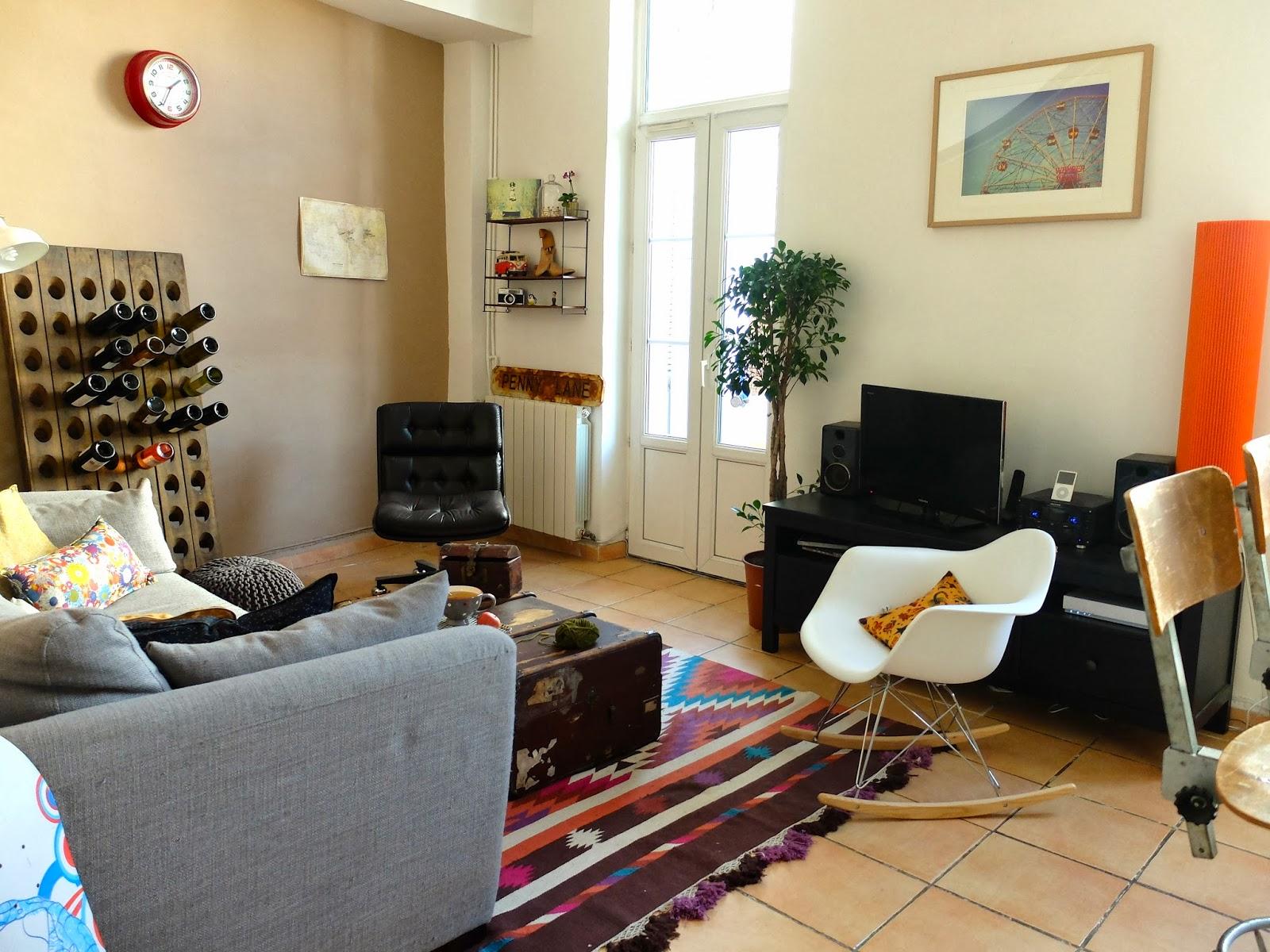 Il y a des fois nouvelle maison nouvelle d co 1 le salon - Le bon coin meuble tele ...