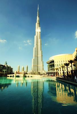 tallest skyscraper burj khalifa