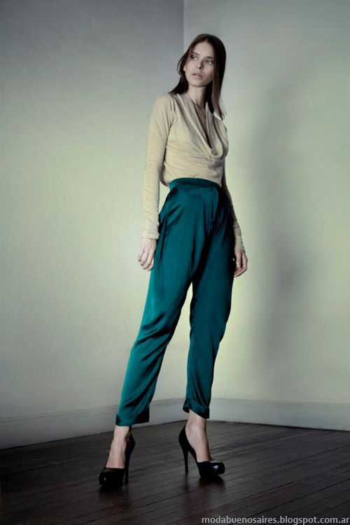 Moda invierno 2013 coleccion diseñadora Daniela Sartori.