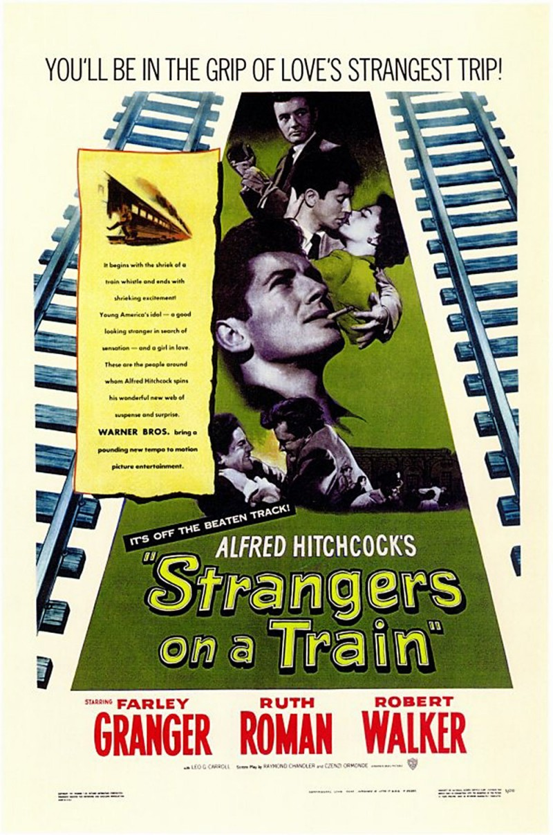 motifs of a movie strangers on a train Hitchcock's strangers on a train  visual motifs and a melodramatic crime  ties back into the plot of strangers on a train in which bruno,.