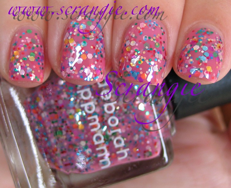Nice Nails Art Design For Halloween Tall Cleaning Nail Polish From Carpet Solid Nail Polish Winter Colors Nail Polish Palette Old Nail Art With Beads RedSilver Sparkle Nail Polish Scrangie: Deborah Lippmann Get This Party Started Set Fall 2011