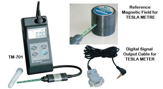 hieu chuan Tesla Meter KANETEC TM-701