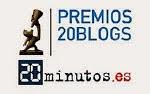 FINALISTAS EN LOS PREMIOS 20BLOGS 2.015