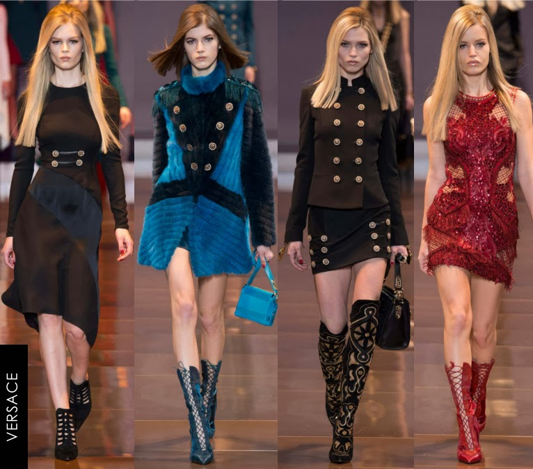 versace womens fall 2014 dresses
