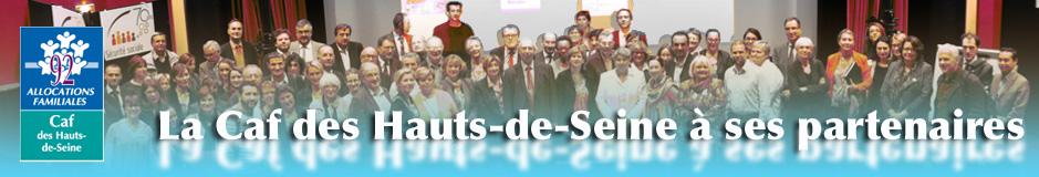 La Caf des Hauts-de-Seine à ses partenaires