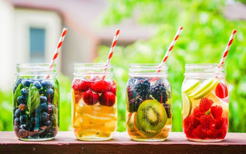 Receitas funcionais para água aromatizada