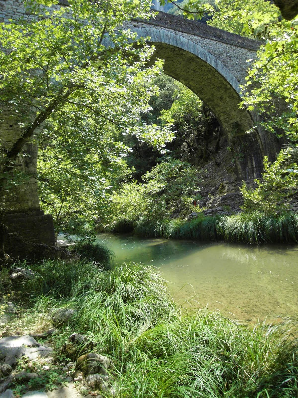 Παραλογγίτικο γεφύρι στον Ερύμανθο