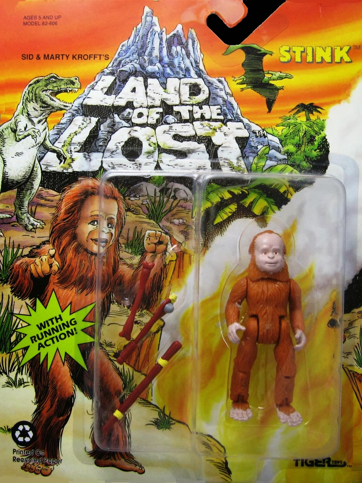Collection of the Week: Land of the Lost (Tiger Toys; 1991)