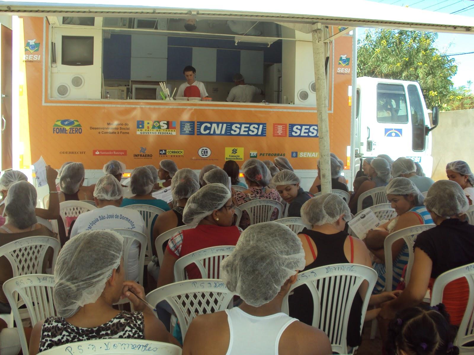 dereceber durante uma semana a visita do Programa Cozinha Brasil (SESI  #966835 1600 1200