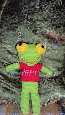Sapo Pepe con sonido