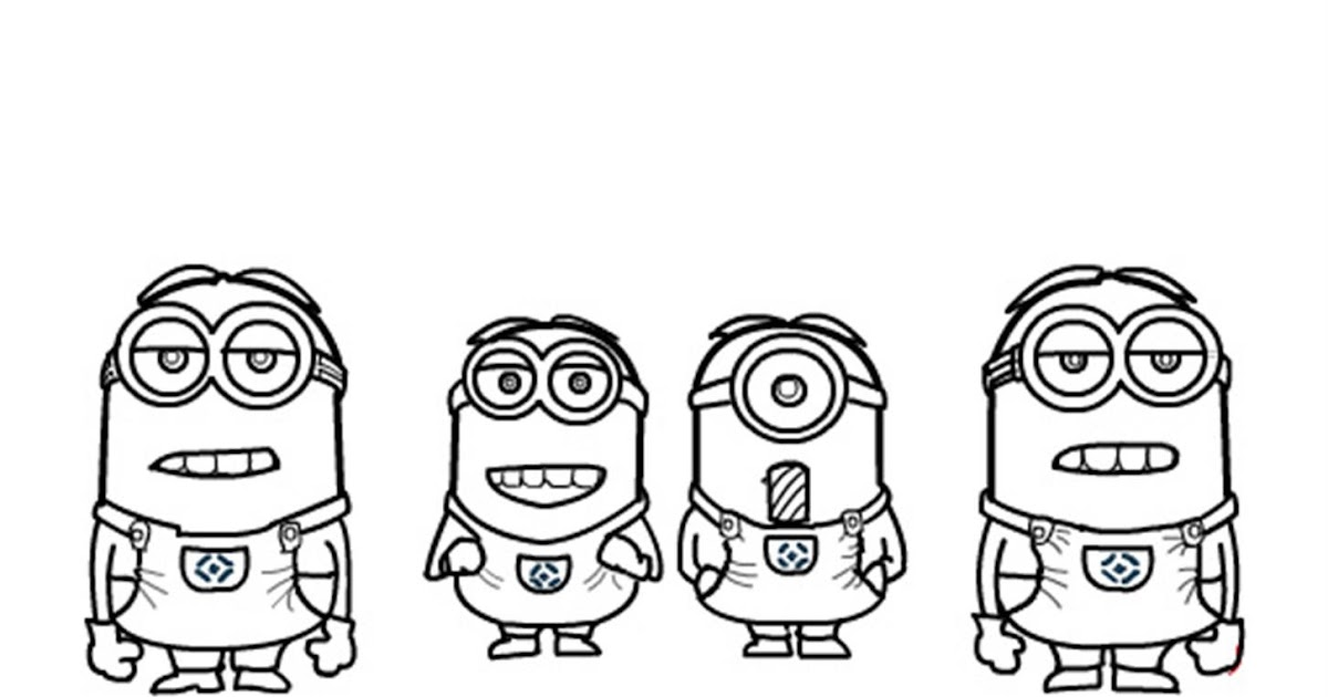 Minions coloring pages Coloring