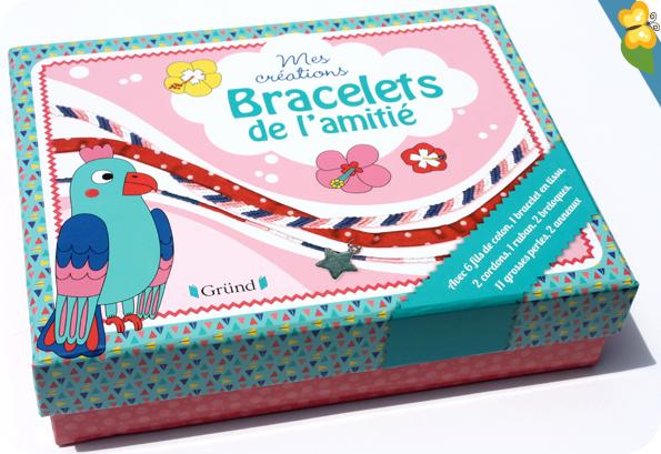 Mes créations Bracelets de l'amitié - éditions Gründ