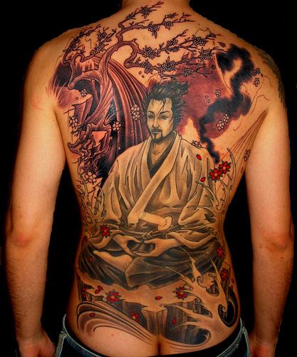 Tattoo de Samurai e o seu significado
