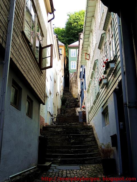 Stairway in Bergen