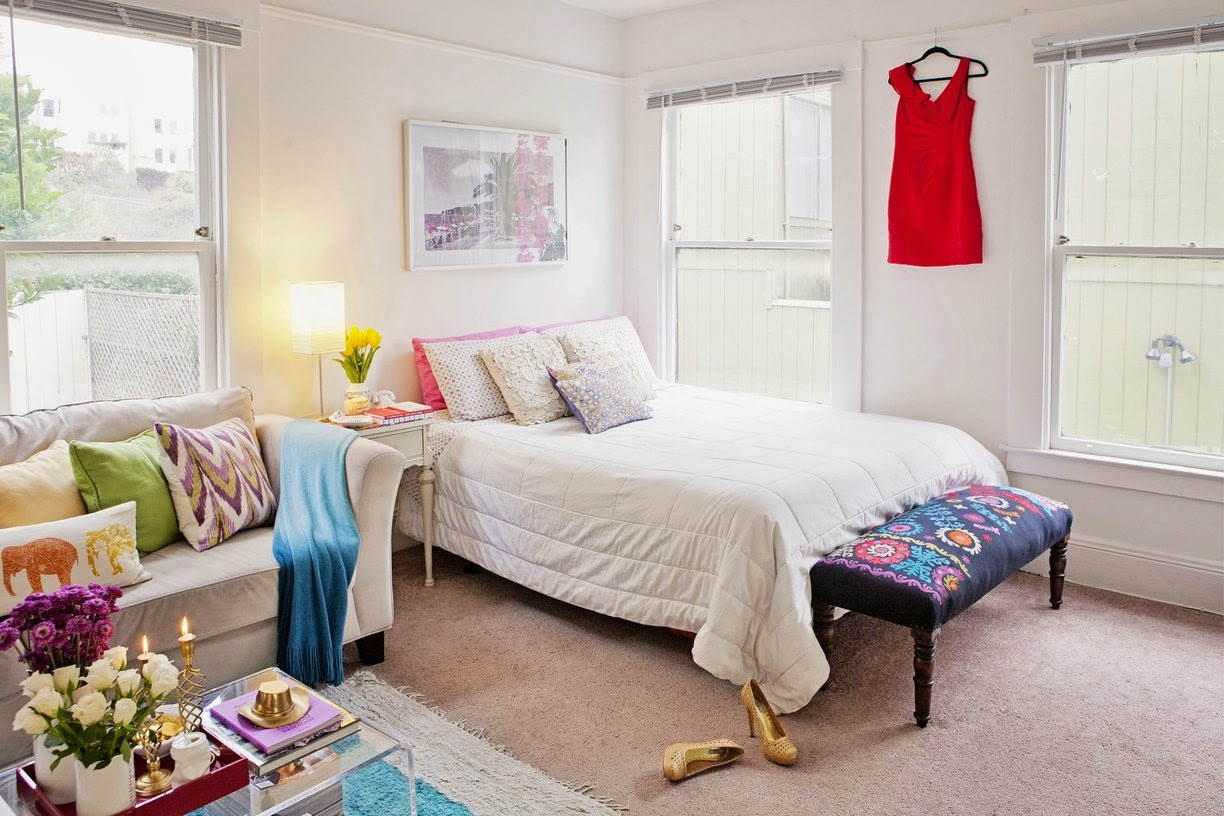 The Lovely Side Small Space Inspiration Fashion Blogger