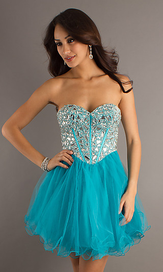 Short Prom Dresses 2012