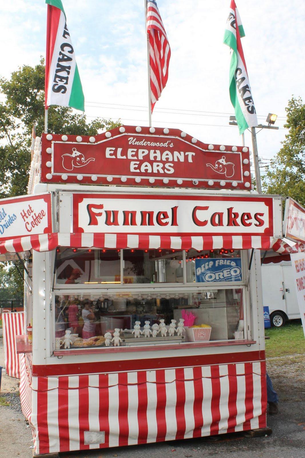 Amusement Park Cake