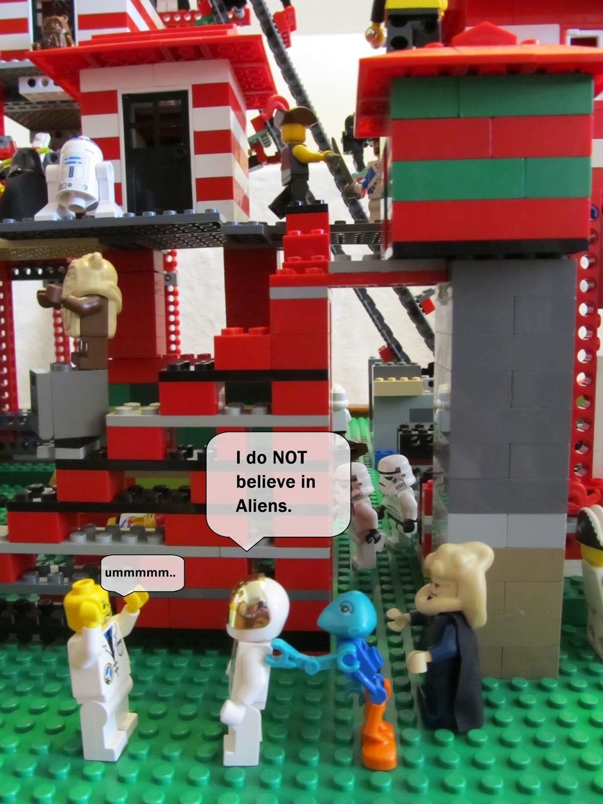 Seize the Absurd: Merry Christmas Lego edition