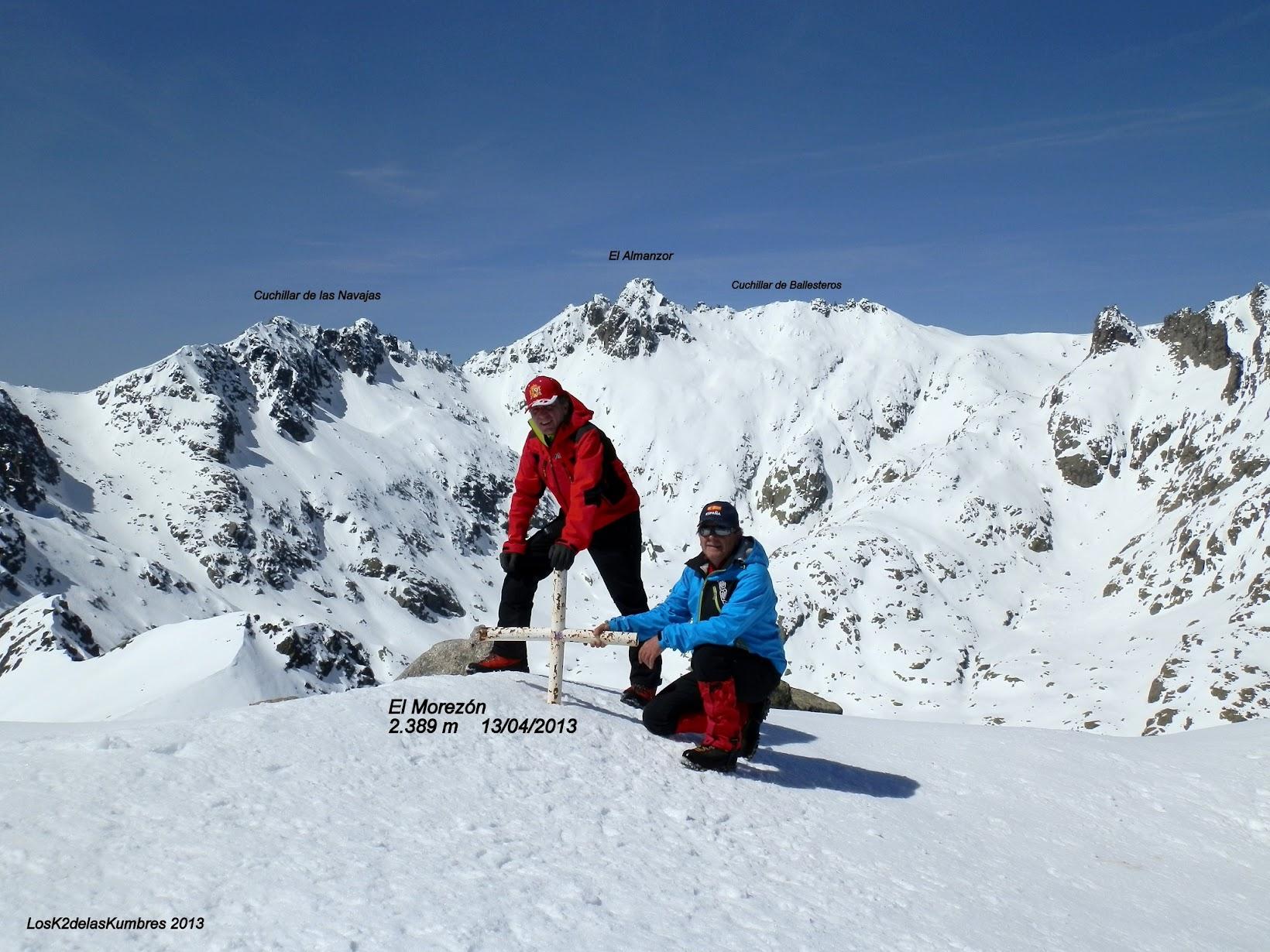 Cumbre el Morezón 2.389 m