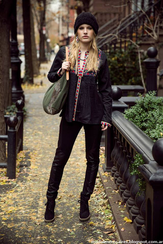 Tendencias de moda otoño invierno 2014 India Style.