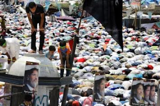 Rakyat Palestina Memberikan Dukungan Kepada Presiden Mursi
