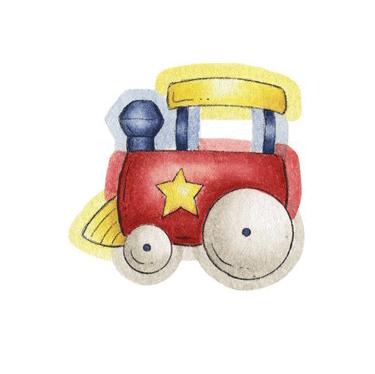 Tren infantil para imprimir