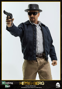 Heisenberg Breaking Bad Walter White 1/6 Figure by ThreeZero