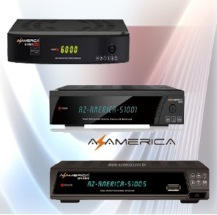 ATUALIZAÇAO AZAMERICA S1001 HD,S1005 e S1001 Plus -28.07.2014