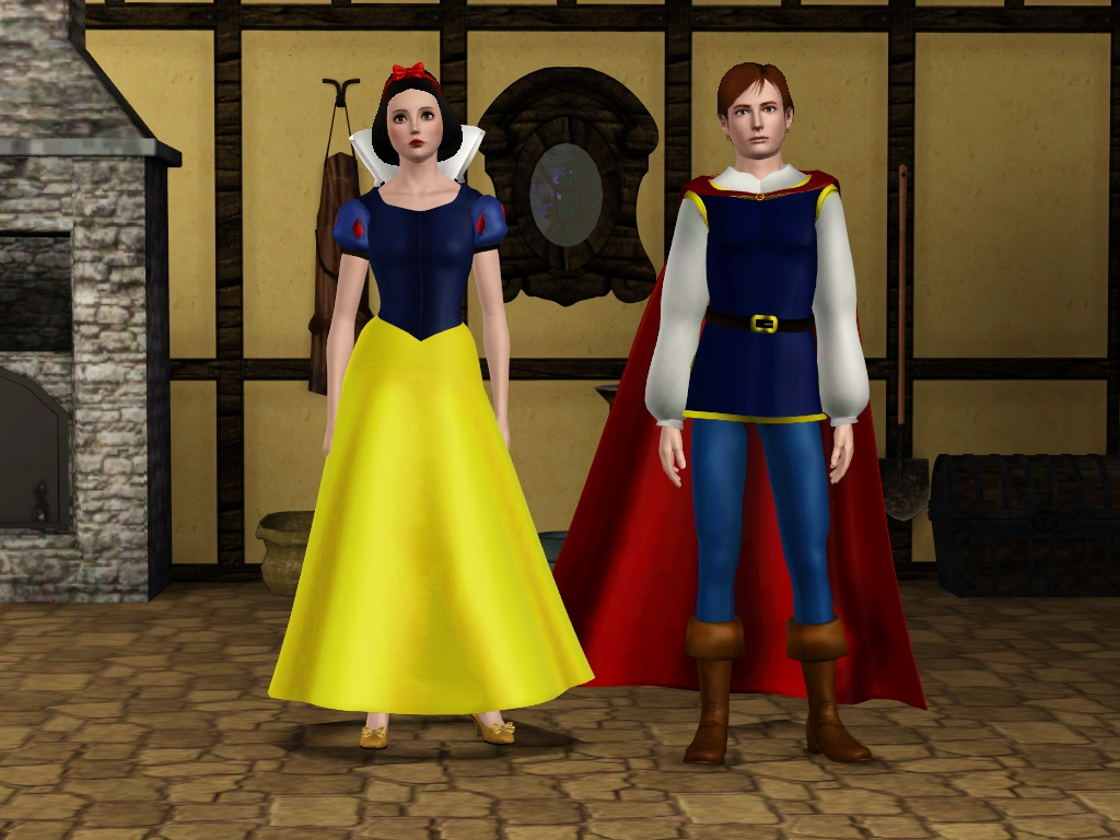 My Sims 3 Blog Snow White And Her Prince Set By Sil Fantasy