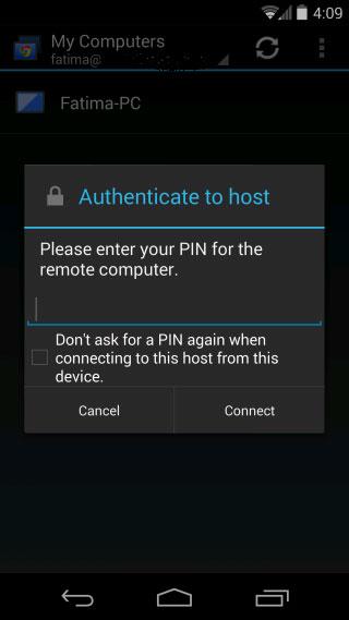 [Android tips] - Hướng dẫn sử dụng ứng dụng Chrome Remote Desktop trên điện thoại Android 5
