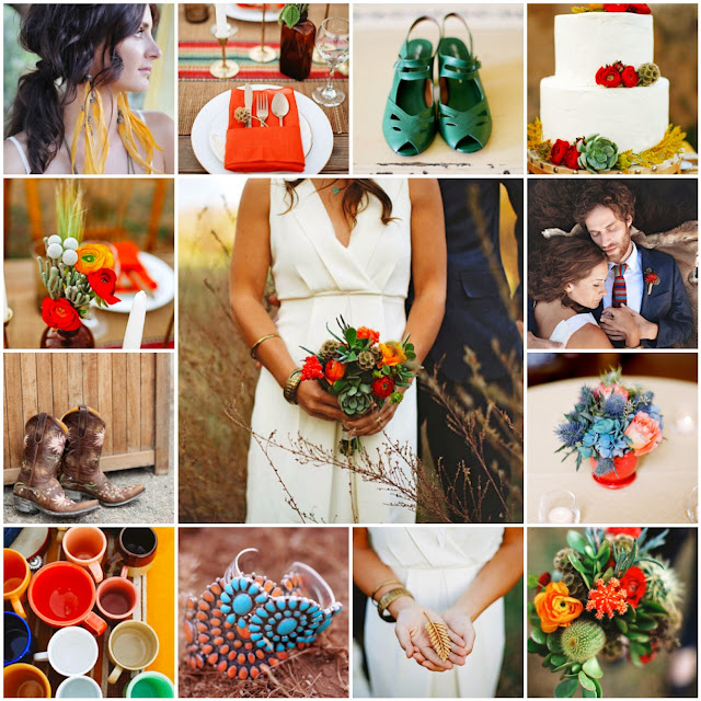 southwestern wedding