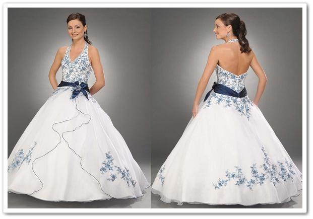 Wedding dresses: nautical themed wedding dress