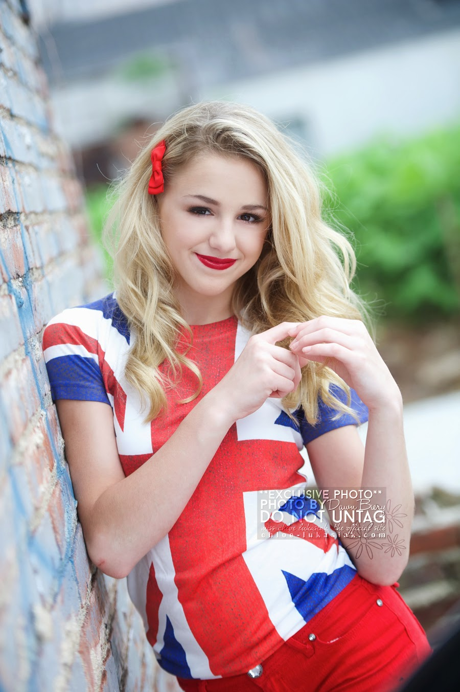 EXCLUSIVE !!! CHLOE LUKASIAK PICTURES