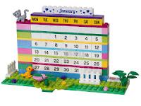 LEGO Asztali naptár