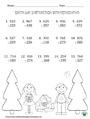 Counting Number worksheets : subtraction regrouping worksheets ...